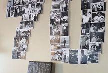 70 jaar collage
