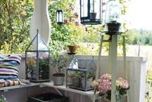 Pretty porches and patios