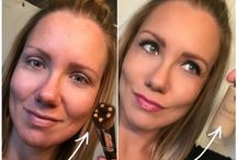 Before and after Younique / The results of Younique... ENDLESS FLAWLESSNESS
