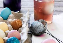 Easter Egg Ideas / Ways to Naturally Color Easter Eggs