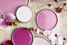 Pantone 2014. Radiant Orchid, color of the year / Color inspiration based on Pantone Color trends.
