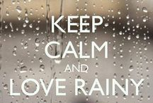 ☔ Rain ☔ / Pluviophile A lover of rain, someone who finds joy and peace of mind during rainy days