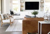 Tv wall / lounge