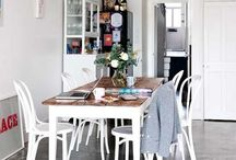 Bentwood Thonet Chairs / Different environments