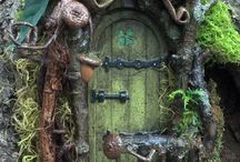 Fairy-Elf door
