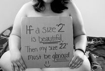 Beauty is >> Redefining / Beauty comes in every shape and age.