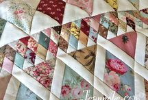 Little Jane quilt / My quilt inspired by Jane Austen