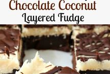 chocolate coconut fudge cake