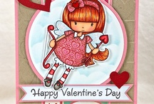 Whimsie Doodle cards I {heart}