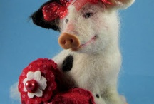 Felted needle work / by Joan Witter