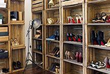 Schoenen / Opbergmogelijkheden voor schoenen