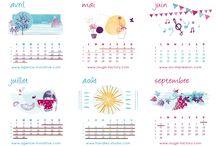 kalendarze scienne