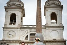 Wedding in Rome / A wonderful frame for your wedding