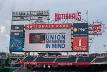 Labor Night at the Nats / Union Plus sponsored the 7th Annual Labor Night at the Nats. Here are a few photos from our amazing event with the Washington Nationals!