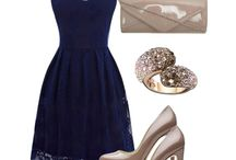 Accessories to go with navy dress