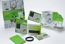 Collateral Inspiration / a collection of business collateral samples / by Design That Rocks