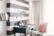 Arbeitszimmer - Ideen & Inspiration für dein Home Office / Das Arbeitszimmer von Freelancern und Selbstständigen sollte hübsch, ordentlich, funktional, kreativ und inspirierend sein, oder? Hier sammle ich für uns Deko Ideen, Inspiration, Tipps und DIY Ideen für unser Home Office.