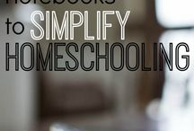 Home schooling and lesson organisation