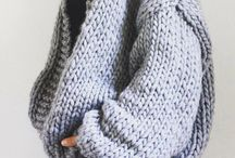 Tricot grosse maille