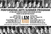 Acting Camp / PERFORMING ARTS SUMMER PROGRAM: IF YOU ARE SERIOUS ABOUT EXPLORING ACTING,  THERE IS NO BETTER PLACE!