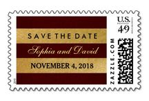 WEDDING - all you need! / Here you'll find invitations, RSVP, SAVE THE DATE, labes, postage stamps... for your special event! / by Gratia Costin