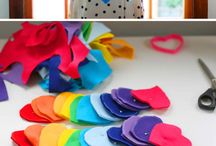 Colours - RAINBOW / decorations, crafts, ideas in rainbow colours