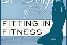 31 Days Of Fitting in Fitness / 31 Day Challenge for October to fit fitness into otherwise busy lives!