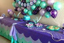 under the sea themed party