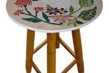 table moaique