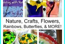 Kids crafts-spring