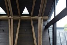 Wooden construction and tectonics