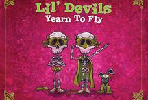 Lil' Devils Yearn to Fly / Lil' Devils Yearn to Fly (created, illustrated, and co-written by David Lozeau) is a comical, colorful tale of two silly skeleton pals and their sidekick dog on their earnest, yet impractical quest to soar through the sky. http://www.davidlozeau.com/products/lil-devils-yearn-to-fly