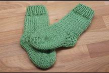 calcetines de punto