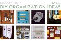 get organized! / these are great ideas (if i actually get organized enough to use them!)  :) / by Laurie Ducharme