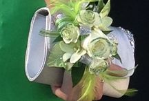 Prom flowers / Wrist corsages and bouquets