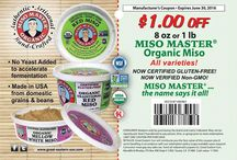 Miso Master Coupons & Giveaways / Save on your favorite Miso Master® Miso with our manufacturer coupons or win some with our awesome giveaways!