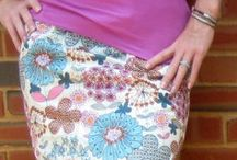 Dresses & skirts tutorials and patterns