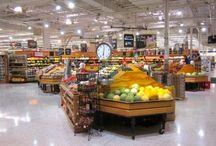 Grocery store equipment