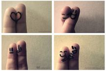 Funny Fingers / by Elle Cortes