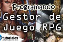RdP - Gestor de Juego RPG en PHP, JQuery y MySQL / Vamos a desarrollar un gestor de juego de rol utilizando código PHP apoyados por JQuery y como base de datos MySQL.  Todos los vídeos se irán creando semanalmente, explicando cada paso del desarrollo.
