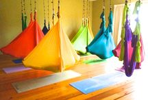 Kick Ass Stuff For Aerial Yoga / Killer ements for my dream Aerial Yoga Fitness Pilates Barre Studio. / by Jenny From The Blog at TheSuburbanJungle