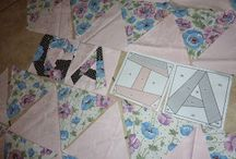 Quilt, Patchwork and Hexagons / Quilt, Patchwork and Hexagons