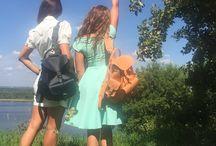 PEACHES & CREAM Backpack
