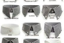 Men's fashion collars
