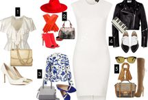 5 ways to wear... / Tips on how to accessorize wardrobe basics form the TLS blog.