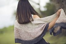 Knitted Shawls, Scarves, Cowls & Sweaters
