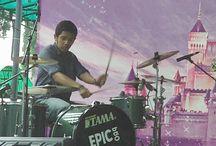 Drummer / Drummer : AL ELS - ANGEL VOICE - KANVAS - GeKaJeM - GROOVY TIME - BURONAN - SMOKERS
