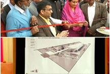Inaugurated a 66 KV grid and new tehsil complex