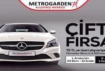Metrogarden AVM 1. dönem Mercedes çekiliş sonuçları