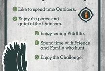 Hunting & Fishing Infographics